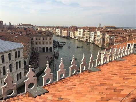 la terrazza venezia venezia riapre il fondaco dei tedeschi e diventa uno