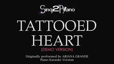 tattooed heart lyrics grande tattooed lyrics metrolyrics auto