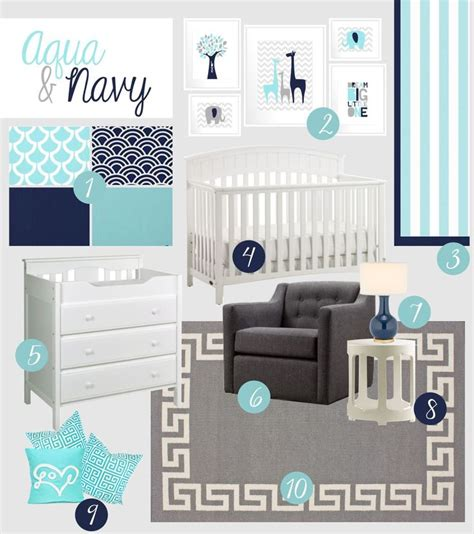 turquoise color scheme bedroom 25 best ideas about navy nursery on navy baby