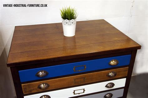Architects Drawers by Vintage Plan Chest