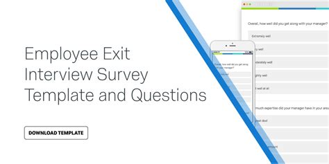 employee exit questions template employee exit survey template questions