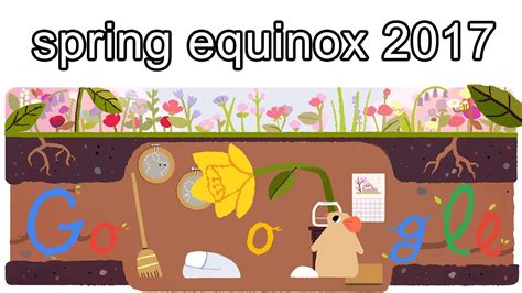 spring equinox google doodle when does the season really fr 252 hlingsanfang 2017 spring equinox 2017 lente equinox