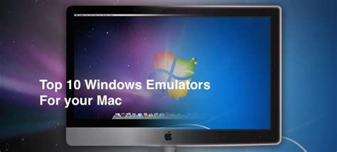 best windows emulator mac top 10 windows emulator for mac you should