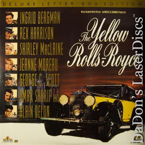 the yellow rolls royce the yellow rolls royce laserdisc laserdiscs not on dvd