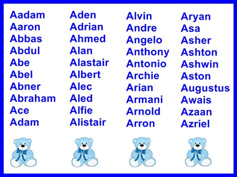 names for a boy boys names and meanings boy names boys and names