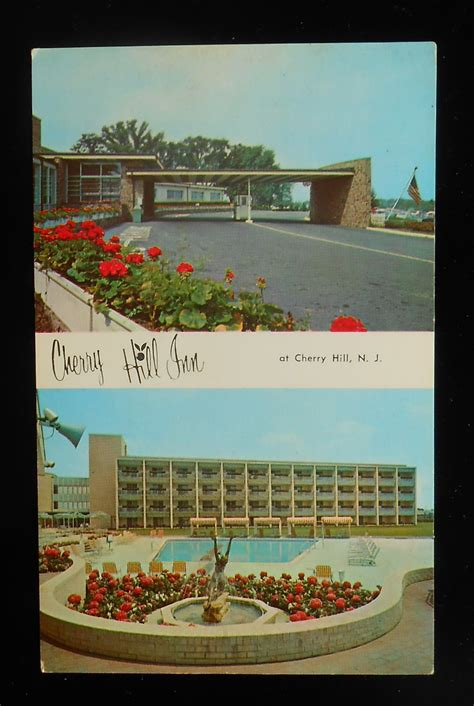 theme hotel cherry hill nj 1960s cherry hill inn entrance and pool cherry hill nj