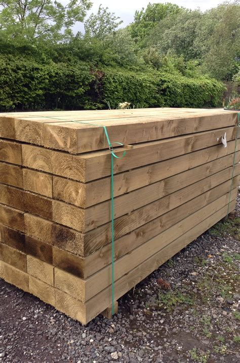 Reclaimed Railway Sleepers Manchester by Sleepers Railway Sleepers Baxter Landscapes