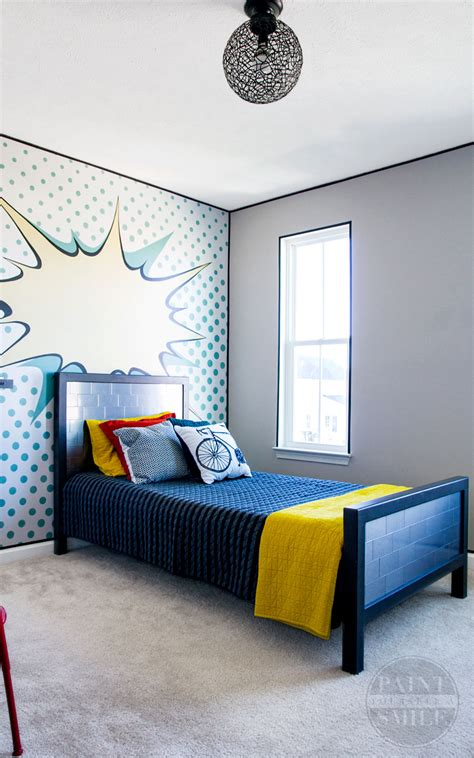 pop art bedroom pop art bedroom make over reveal paint yourself a smile
