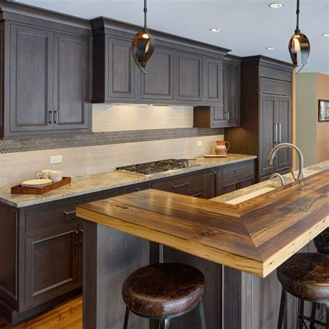 rustic transitional kitchen remodel in walnut il village transitional rustic ranch home renovation drury design