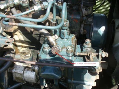 Pompa Air Kubota kubota b6000 cale puis en panne