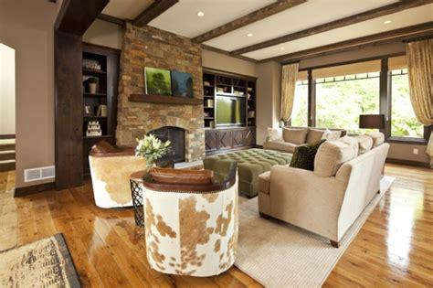französisches wohnzimmer kamin dekor landhaus