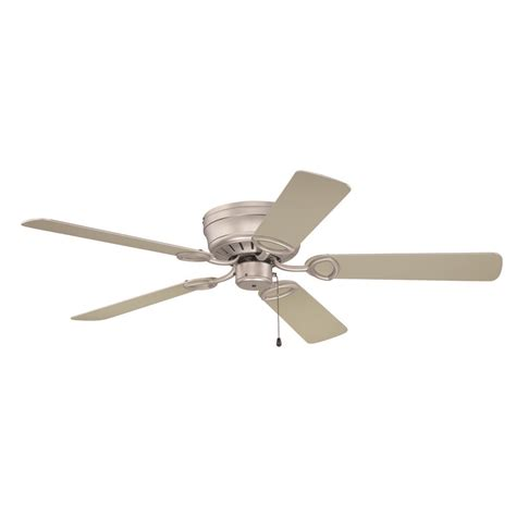 Hugger Ceiling Fans Without Light Craftmade Lighting Pro Universal Hugger Brushed Satin Nickel Ceiling Fan Without Light K10197
