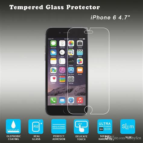 Produk Tempered Glass 9h Quality For Iphone 6g 6s Trend 9 for iphone7 7plus 6g 6plus 5s 5c arc mobile phone glass