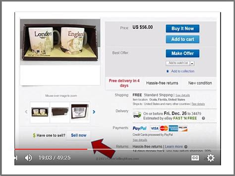 ebay sell make more money by listing on ebay the right way