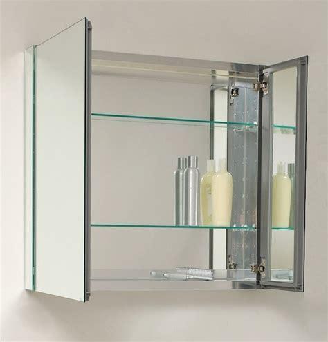 30 wide medicine cabinet 30 quot wide mirrored bathroom medicine cabinet