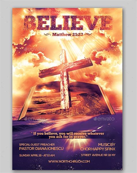 Church Powerpoint Templates Invitation Template Christian Flyer Templates Free