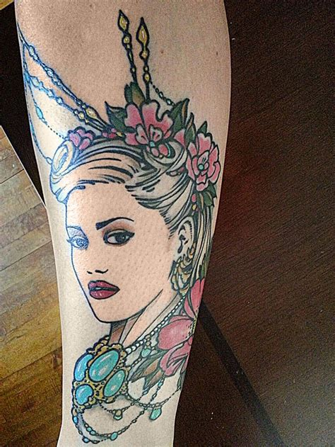 gwen stefani tattoos 17 best images about no doubt tattoos on
