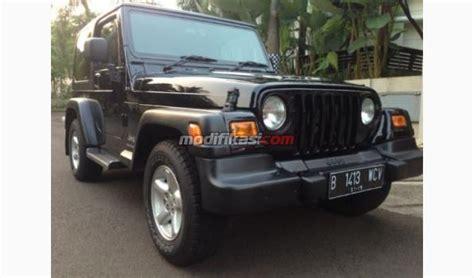 Wrangler Hitam jeep wrangler tj hitam 2005 condition