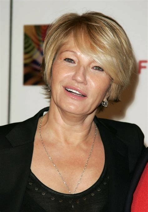 ellen barkin hairstyles short haircut for mature women over 50 ellen barkin s
