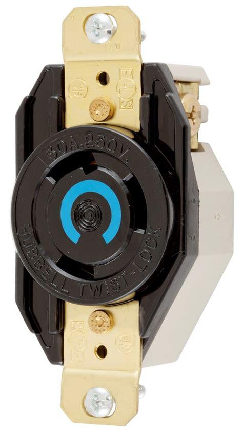 lock spec hubbell hbl2620 insulgrip spec grade twist lock receptacle