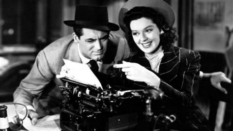 themes in his girl friday tcm classic film festival cultural weekly