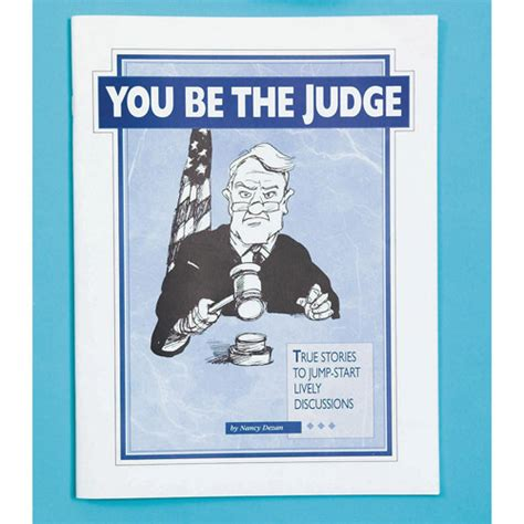 Judge Orders To Be Booked by You Be The Judge Book Walmart