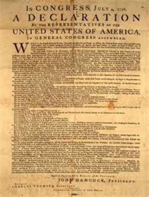 us declaration of independence: unprecedented change to