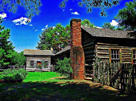 1830 cabin in rock arkansas digital by carrie
