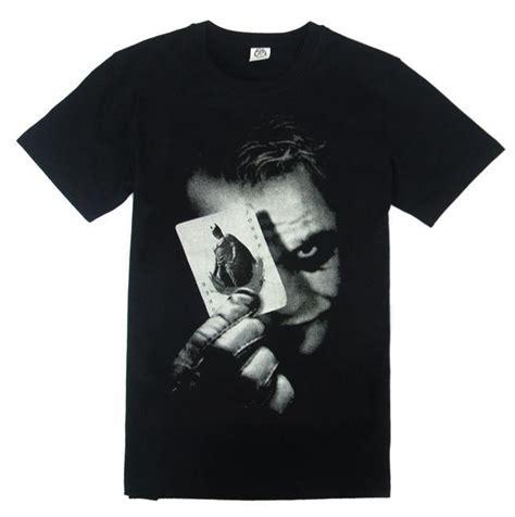The Joker 2 Sides Tshirt Size L batman the heath t shirt heath ledger joker sleeves unisex shirt