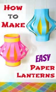 how to make easy paper lanterns japan inner child food