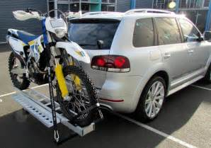 Motorcycle Tow Rack by Mo Tow Towbar Motorcycle Carrier Rack R Carry Dirt