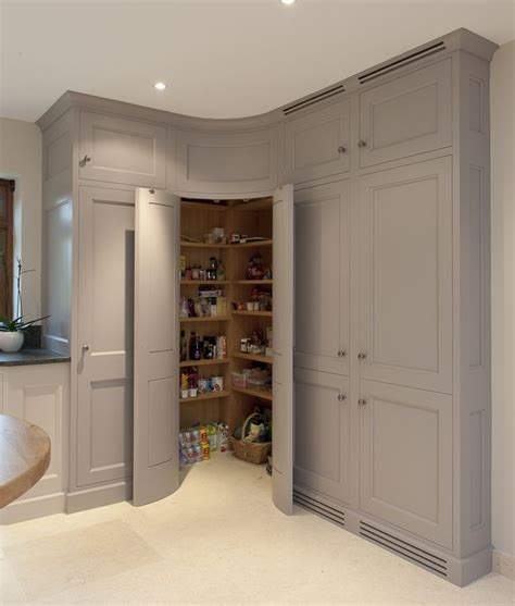 Grey Kitchen Pantry Pantry Corner Cabinet With Corner Pantry Cabinet For
