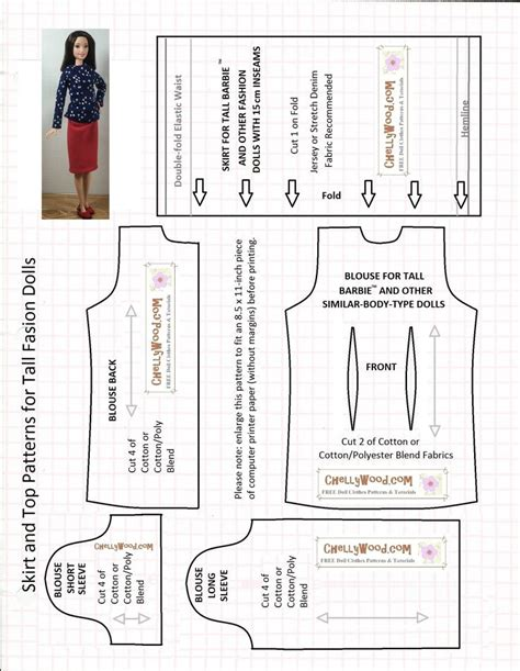 jeans pattern download 17 best images about fashion doll diy on pinterest