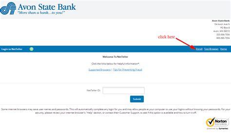 state bank banking login avon state bank banking login login bank