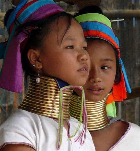 imagenes mujeres jirafa las mujeres jirafa de la tribu karen tailandia dogguie