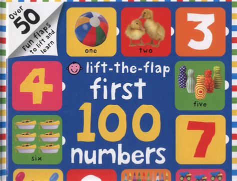 lift the flap first 100 lift the flap first 100 numbers by priddy roger
