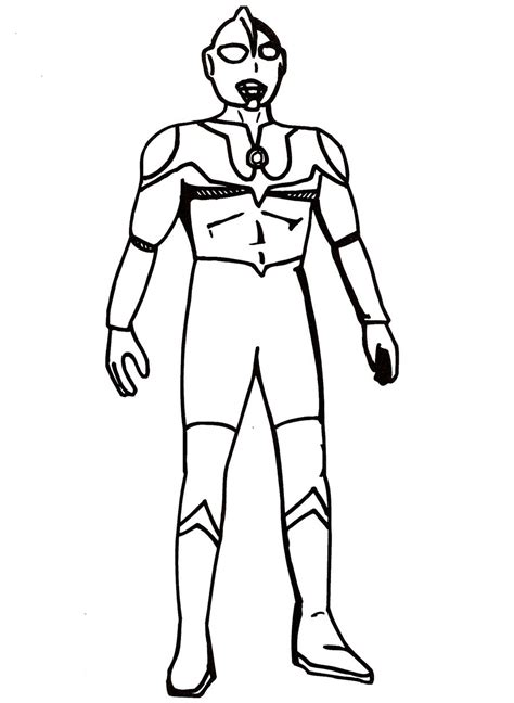 coloring page ultraman colouring pages ultraman ultraman max free coloring pages