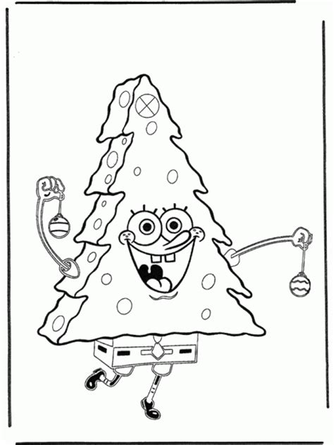 spongebob merry christmas coloring pages 5 spongebob christmas coloring pages
