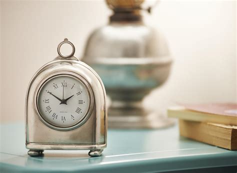 pewter clock italian pewter gifts