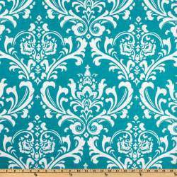 Discount Curtains Draperies Premier Prints Ozborne True Turquoise Discount Designer