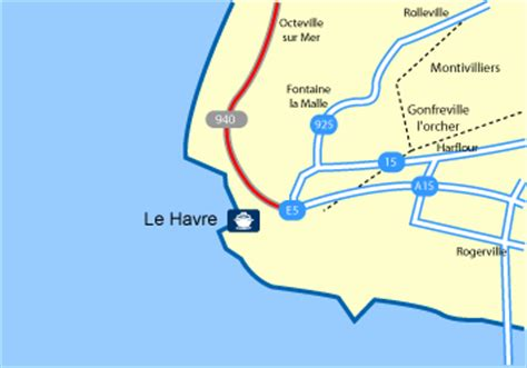 le havre map ferryto co uk ferries to ireland spain