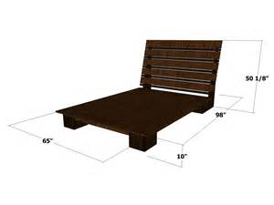 Platform Storage Bed Woodworking Plans by How To Build A Modern Style Platform Bed How Tos Diy