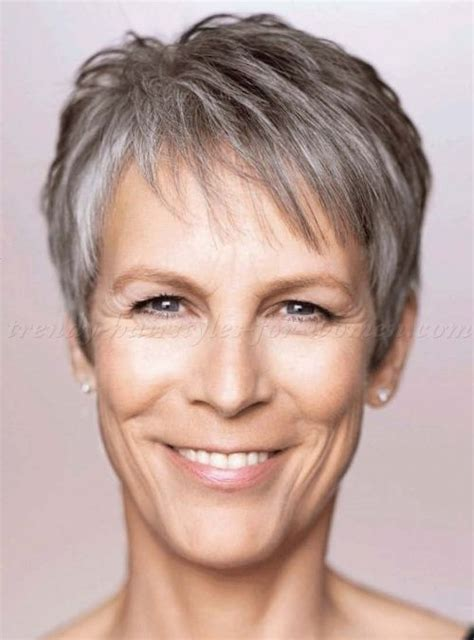 jamie lee curtis with silver hair classy and very short haircut 25 trending hairstyles over 50 ideas on pinterest hair