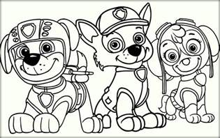 paw patrol free coloring pages paw patrol coloring pages color zini