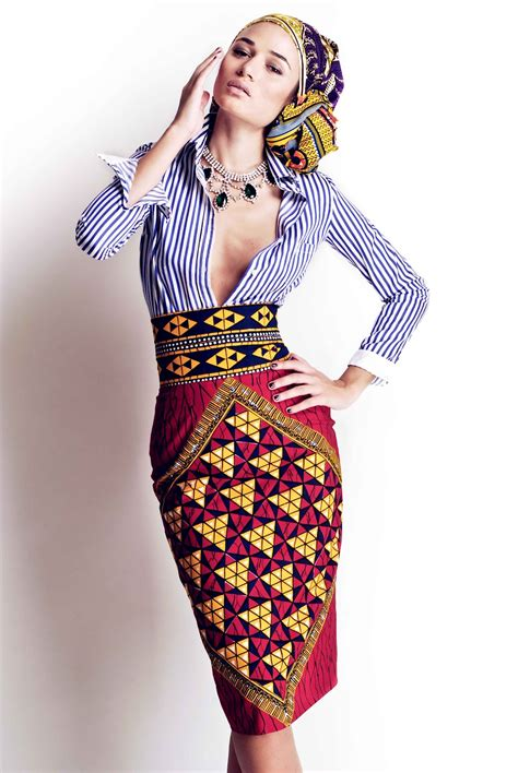 april 2012 african prints in fashion