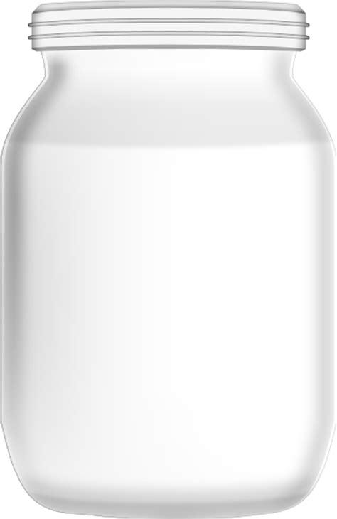 empty glass jar clip art  clkercom vector clip art