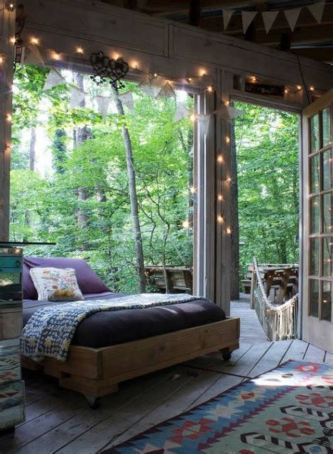 outdoor bedroom bohemian homes
