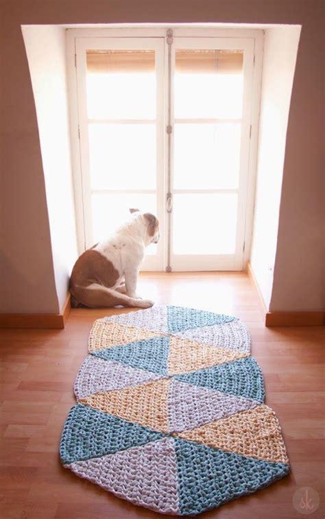 alfombra xxl crochet susimiu patr 243 n de alfombra de ganchillo xxl triangular