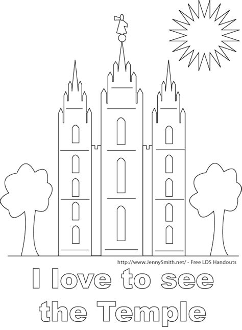 at the temple coloring pages lds coloring pages for 206 church primary