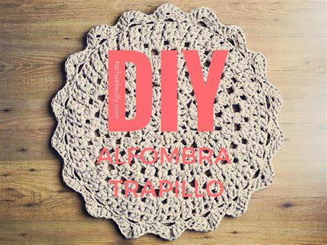 como hacer una alfombra de trapillo redonda facil patron gratis paperblog